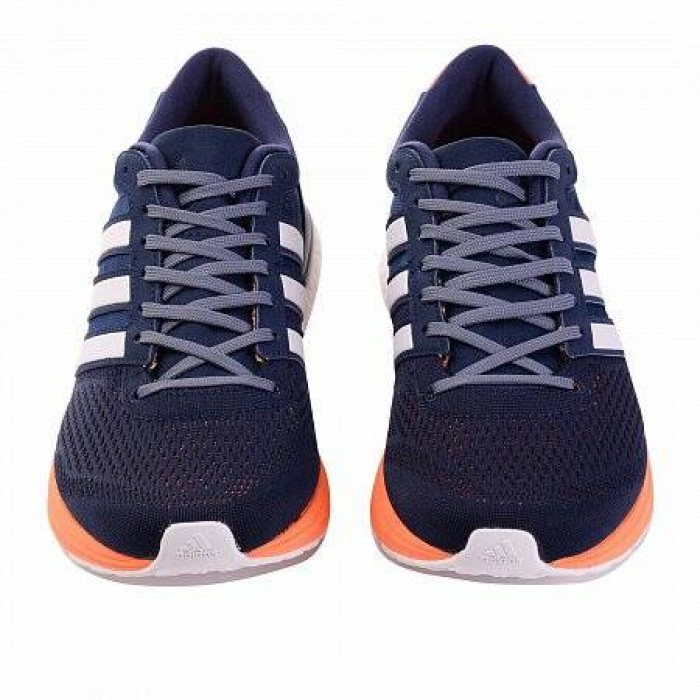 Кроссовки Adidas Performance ADIZERO BOSTON 6 (Цвет Blue-Orange-White)