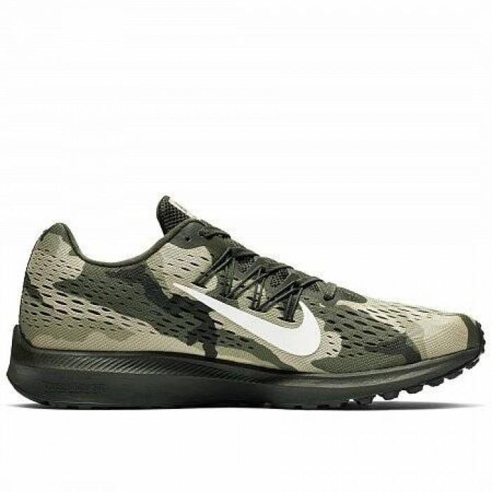 Кроссовки Nike AIR ZOOM WINFLO 5 CAMO (Цвет Sequoia-Sail-Medium Olive-Neutral Olive)