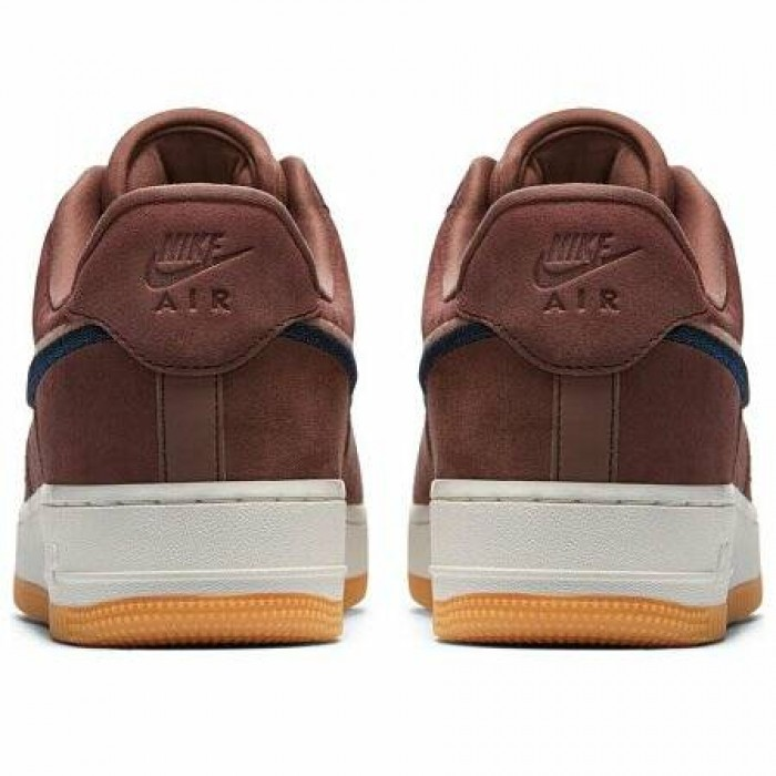 Кроссовки Nike AIR FORCE 1 '07 LUX (Цвет Smokey Mauve-Gum Yellow)