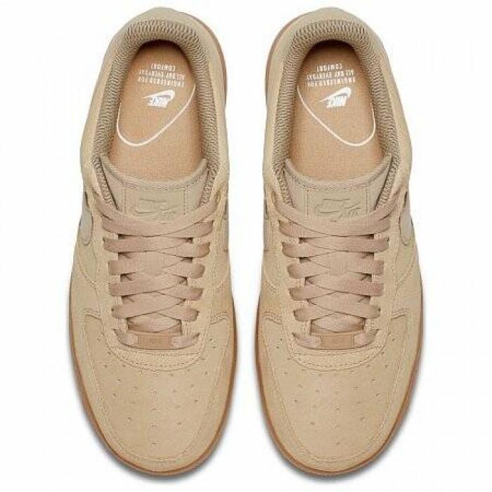 Кроссовки Nike AIR FORCE 1 '07 SE (Цвет Mushroom-Gum Med Brown-Ivory)