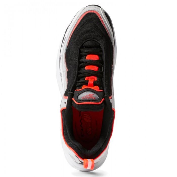 Кроссовки Reebok Classic DAYTONA DMX VECTOR (Цвет Black-Grey-White-Neon Red)