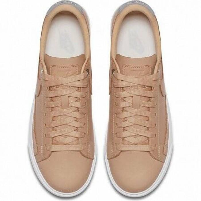 Кроссовки Nike BLAZER PREMIUM LOW QS (Цвет Bio Beige)
