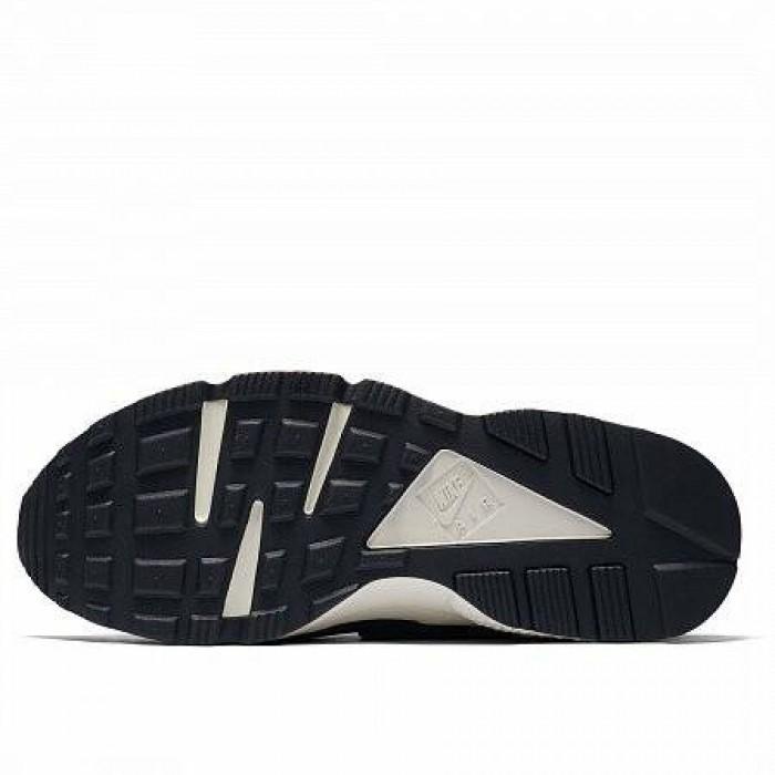 Кроссовки Nike AIR HUARACHE RUN PREMIUM (Цвет Oil Grey-Sail-Rainforest-Bright Mango)