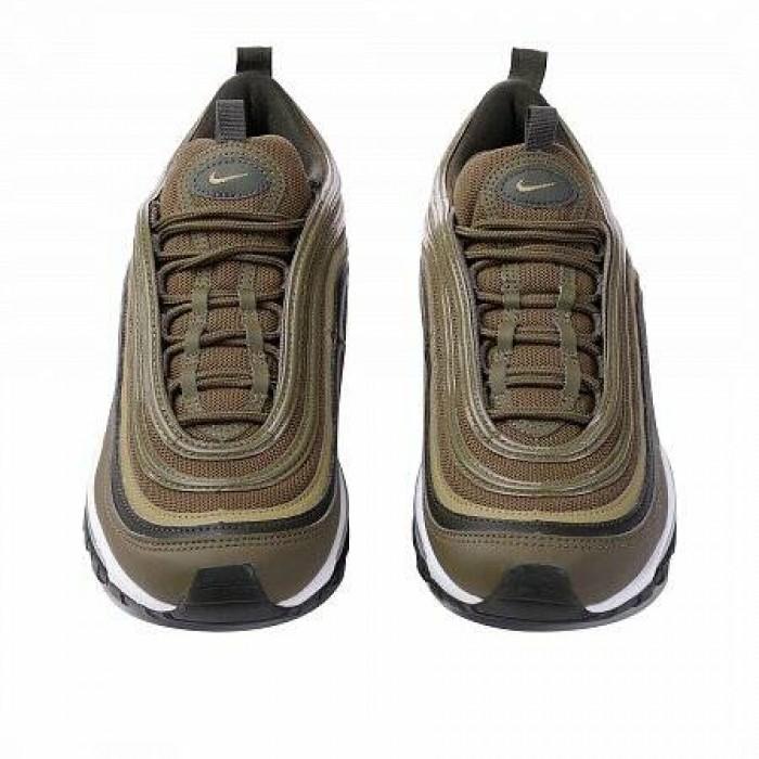 Кроссовки Nike AIR MAX 97 (Цвет Medium Olive-Neutral Olive-Sequoia)