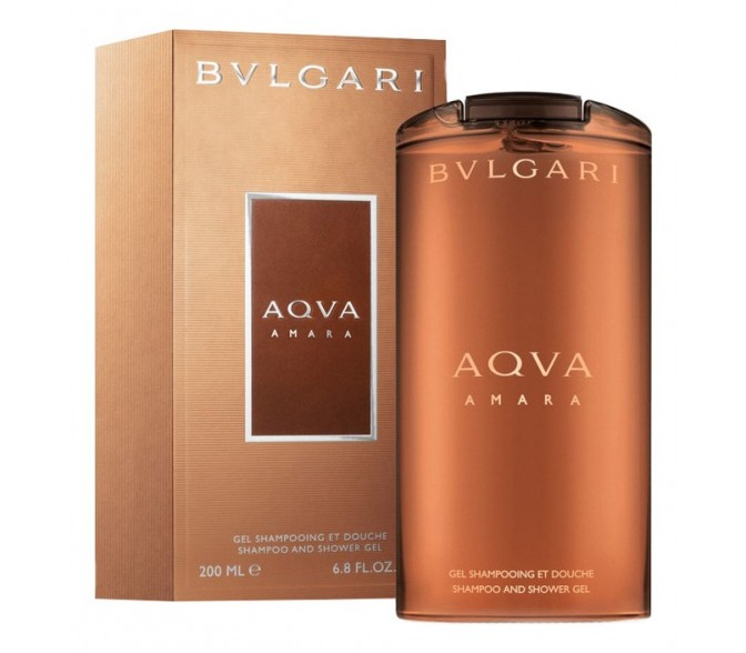 Гель для душа Bvlgari AQUA AMARA men sh/g 200 ml