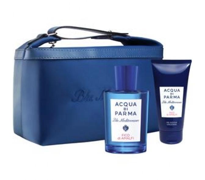 Подарочный набор Giorgio Armani  Acqua Di Parma Blu Mediterreneo Arancia Di Capri (L) set (150ml edt+s/g 75ml+косметичка) !