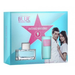 BLUE SEDUCTION (L) SET (100ML EDT+B/L 100ML