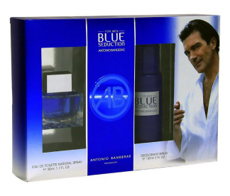 BLUE SEDUCTION (M) SET (50ML EDT+DEO 150ML)