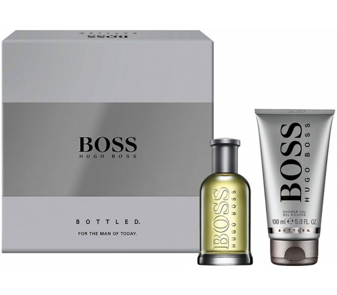 Подарочный набор Hugo Boss Boss Hugo (M) set (40ml edt+50ml sh/g)