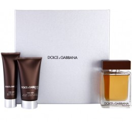 DOLCE & GABBANA THE ONE FOR MEN (EDT125+A/SHB100+SH/G50)