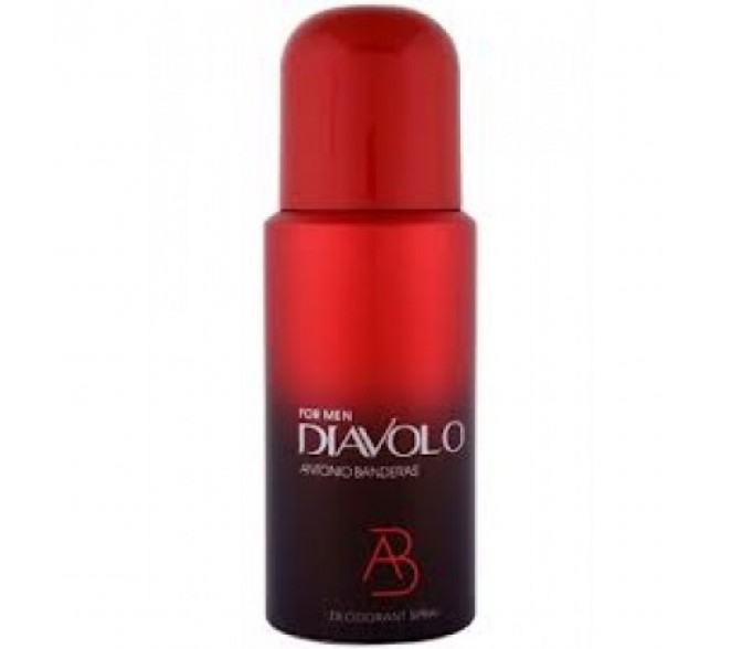 Дезодорант Antonio Banderas Diavolo (M) deo 150ml