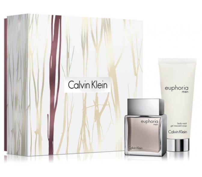 Подарочный набор Calvin Klein Euphoria (M) set ( 50ml+100ml bl/g)