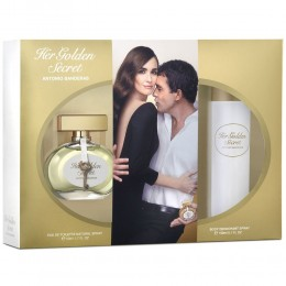 HER GOLDEN SECRET (L) SET (50ML EDT+DEO 150ML)