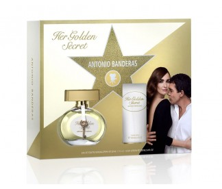 HER GOLDEN SECRET (L) SET (80ML EDT+B/L 100ML)