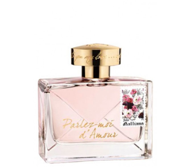 Туалетная вода John Galliano PARLEZ D'AMOUR (L) test 80ml edp