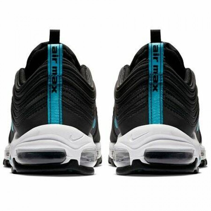 Кроссовки Nike AIR MAX 97 (Цвет Black-Blue Fury-Dark Grey)