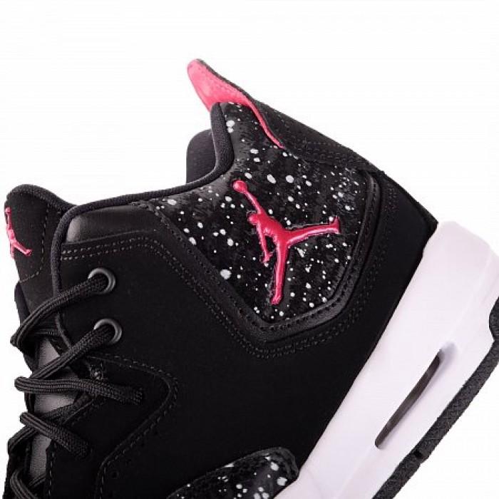 Кроссовки Jordan COURTSIDE 23 (Цвет Black-White-Rush Pink)