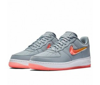 AIR FORCE 1 '07 PREMIUM 2 (Цвет Obsidian Mist-Hot Punch-University Gold)