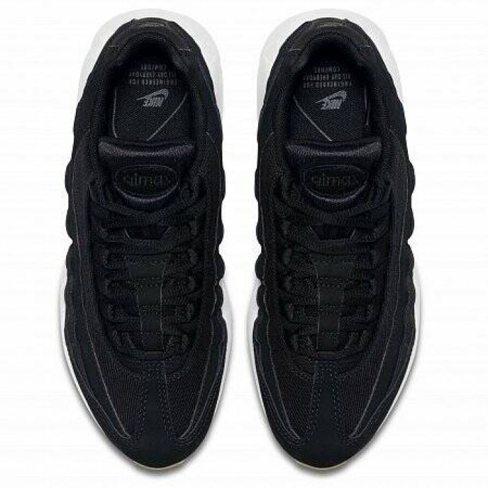 Кроссовки Nike AIR MAX 95 (Цвет Black-Black-Anthracite-Gum Light Brown)