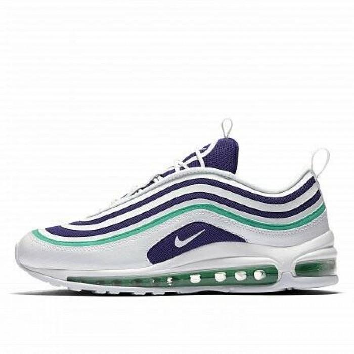 Кроссовки Nike AIR MAX 97 UL '17 SE (Цвет White-Blue-Green)