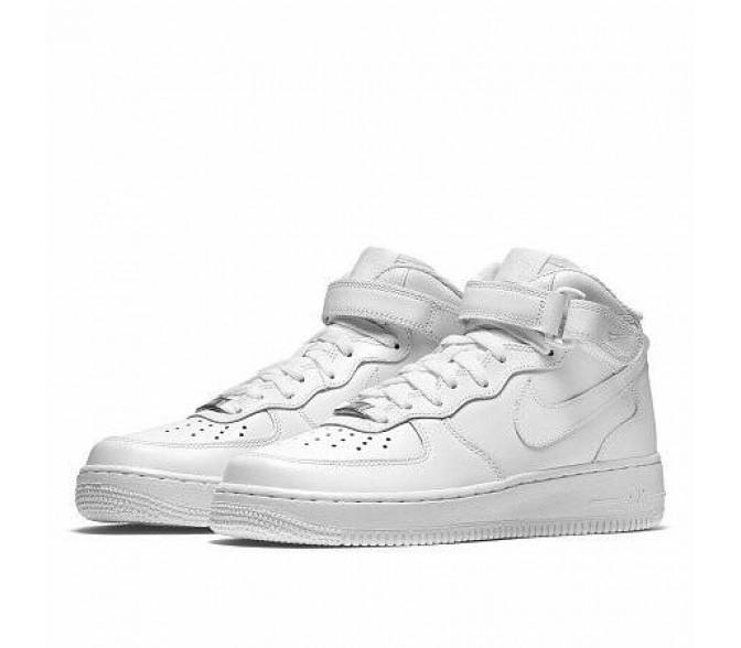 Кроссовки Nike AIR FORCE MID 1'07 (Цвет White)