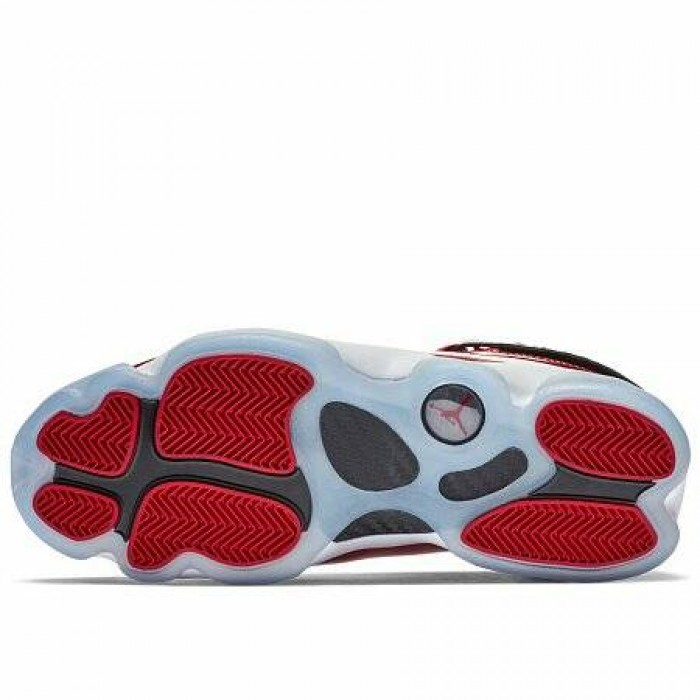Кроссовки Jordan 6 RINGS SHOE (Цвет Gym Red-Black-White)