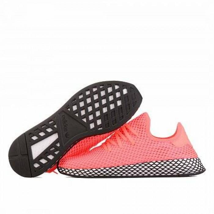 Кроссовки Adidas Originals DEERUPT RUNNER (Цвет Turbo-Turbo-Core Black)