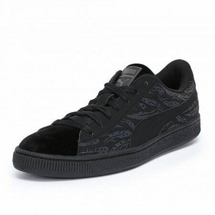 Кроссовки Puma BASKET SWAN (Цвет Black)