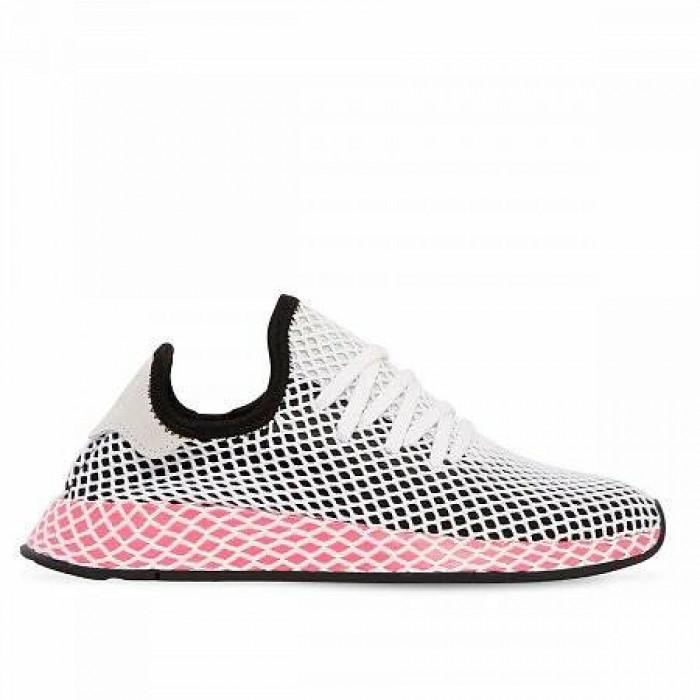 Кроссовки Adidas Originals DEERUPT RUNNER (Цвет Black-Red-White)