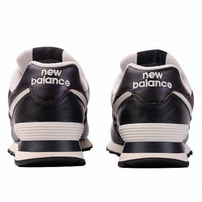 Кроссовки New Balance 574 (Цвет Black-White)