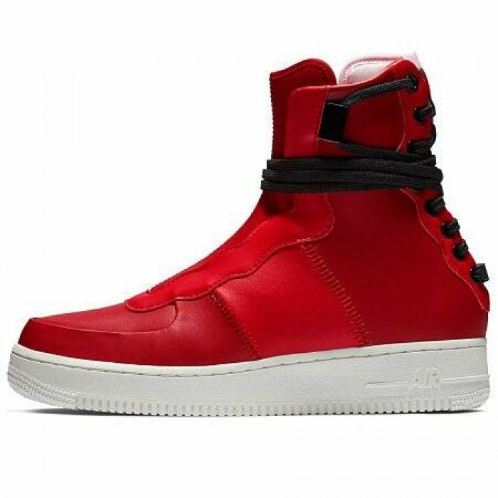 Кроссовки Nike AIR FORCE 1 REBEL XX (Цвет Gym Red-Arctic Pink-Summit White-Black)