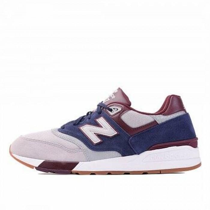 Кроссовки New Balance 597 (Цвет Red-Gray-White)