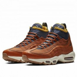 AIR MAX 95 SNEAKERBOOT (Цвет Dark Russet-Thunder Blue-Light