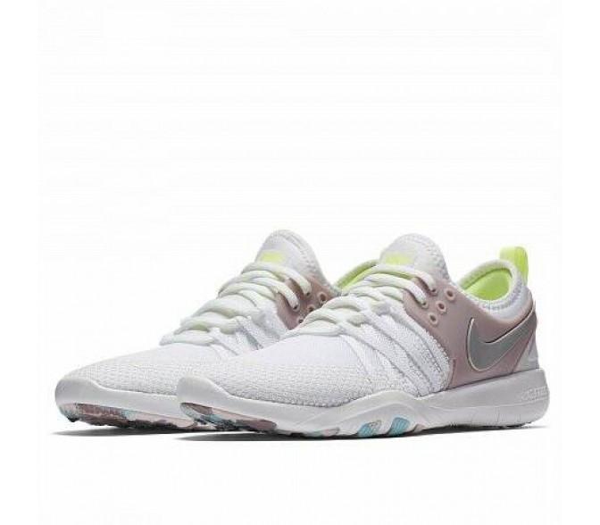 Кроссовки Nike FREE TRAINING 7 (Цвет White-Pink-Silver)