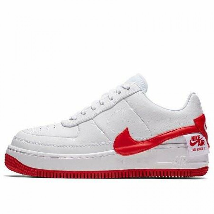 Кроссовки Nike AIR FORCE 1 JESTER XX (Цвет White-University Red)