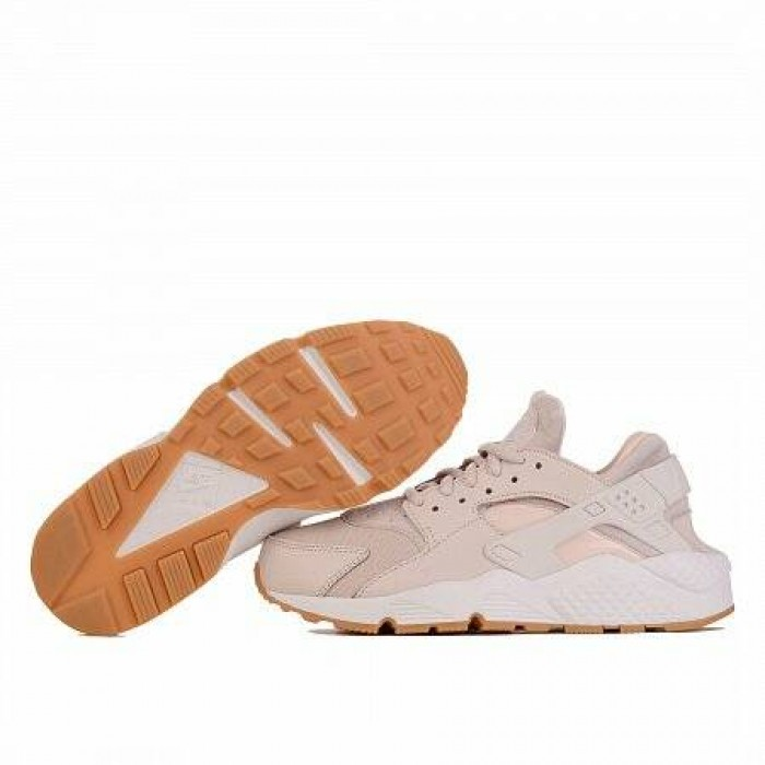 Кроссовки Nike AIR HUARACHE RUN (Цвет Desert Sand-Summit White-Guava Ice)