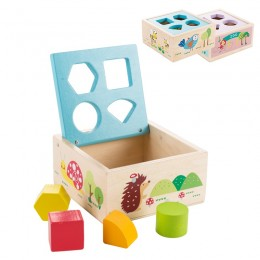Деревянные детские развивающие игрушки