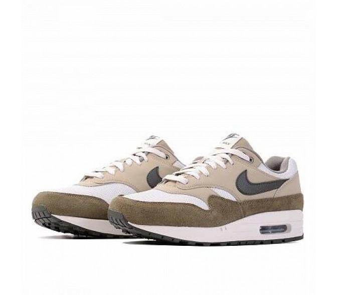 Кроссовки Nike AIR MAX 1 (Цвет Medium olive-Sequoia)