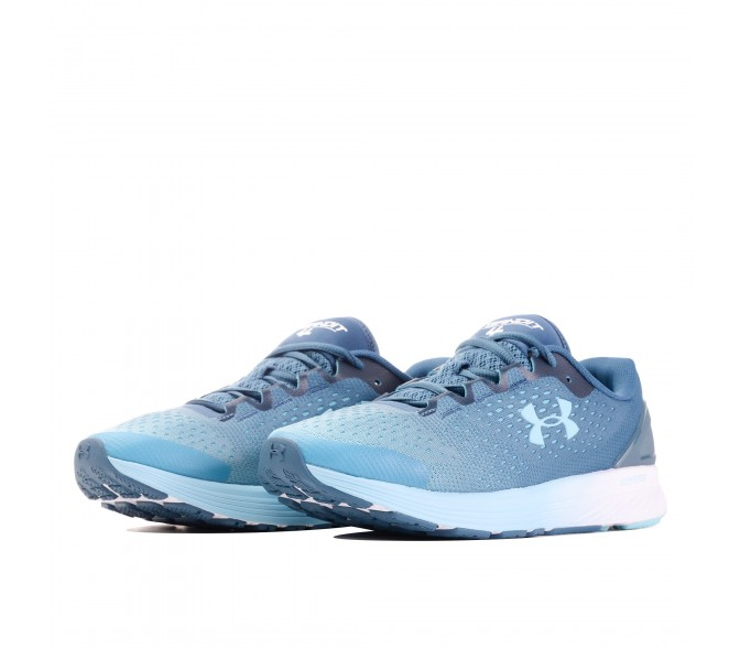 Кроссовки Under Armour CHARGED BANDIT 4 (Цвет Static Blue-White)