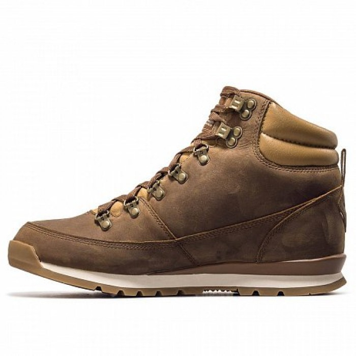 Кроссовки The North Face BACK TO BERKELEY REDUX LEATHER DIJON (Цвет Braun)