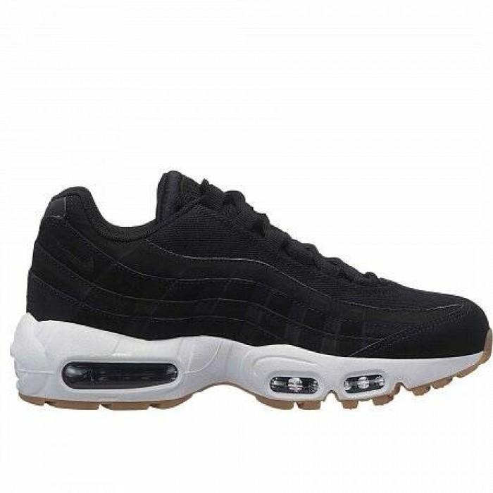 Кроссовки Nike AIR MAX 95 (Цвет Black-Black-Anthracite-Gum Light Brown)