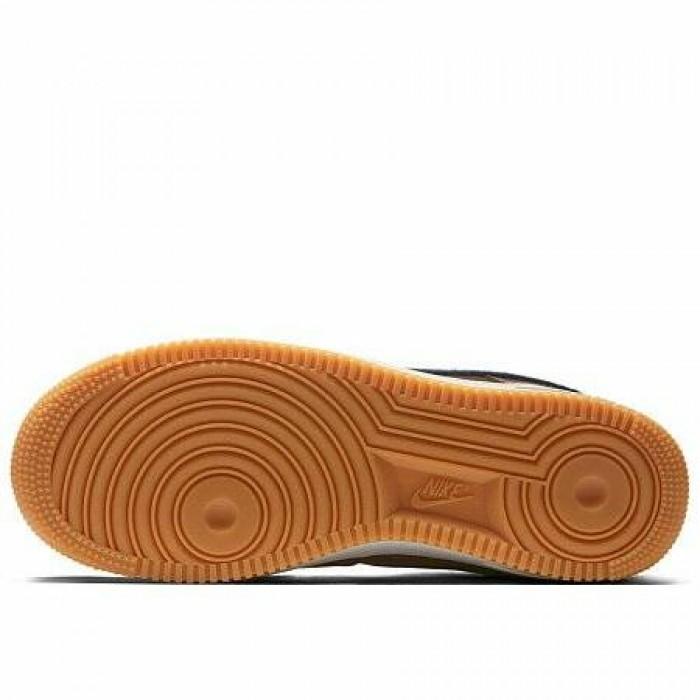 Кроссовки Nike AIR FORCE 1 '07 LUX (Цвет Smokey Mauve-Gum Yellow)