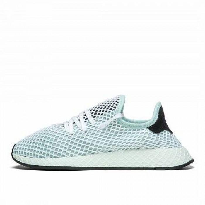 Кроссовки Adidas Originals DEERUPT RUNNER (Цвет Blue-White)