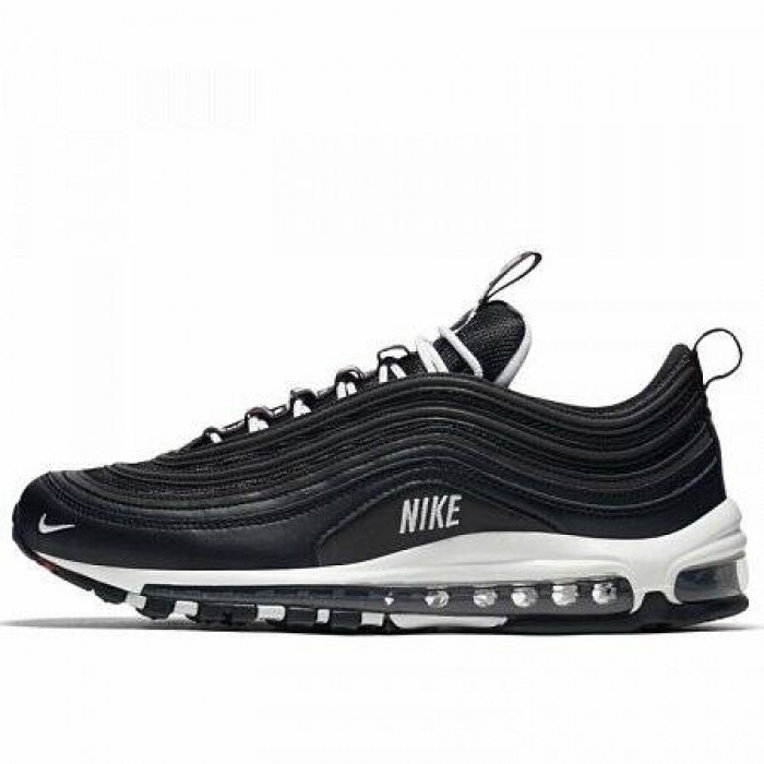 Кроссовки Nike AIR MAX 97 PREMIUM (Цвет Black-White-Varsity Red)