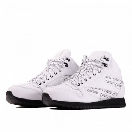 CLASSIC LEATHER MID RIPPLE GORE-TEX (Цвет White-Black)