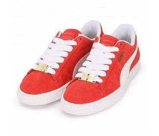 SUEDE CLASSIC BBOY FABULOUS FLAME SCARLET (Цвет Red-White)