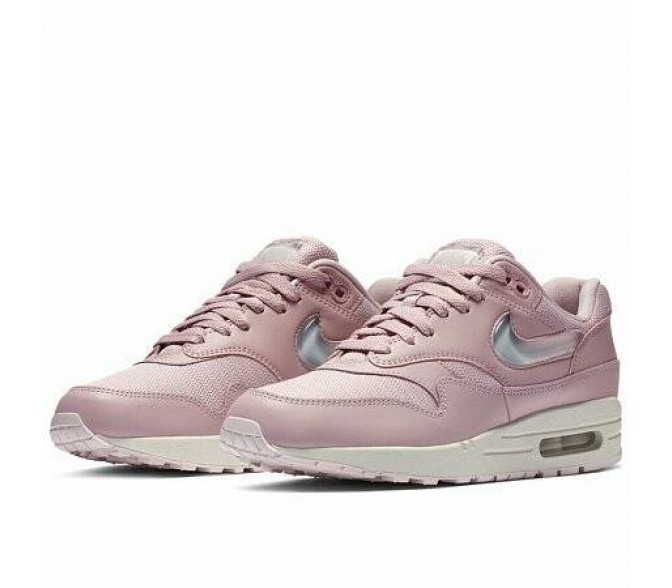 Кроссовки Nike AIR MAX 1 JELLY PACK (Цвет Plum Chalk-Obsidian Mist-Summit White)