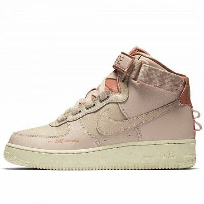 Кроссовки Nike AIR FORCE 1 HIGH UTILITY (Цвет Particle Beige)