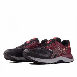 GEL-PULSE 10 GORE-TEX (Цвет Black-Maroon-Orange)