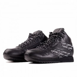 CLASSIC LEATHER MID RIPPLE GORE-TEX (Цвет Black-White)